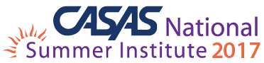 2017 CASAS National Summer Institute Logo